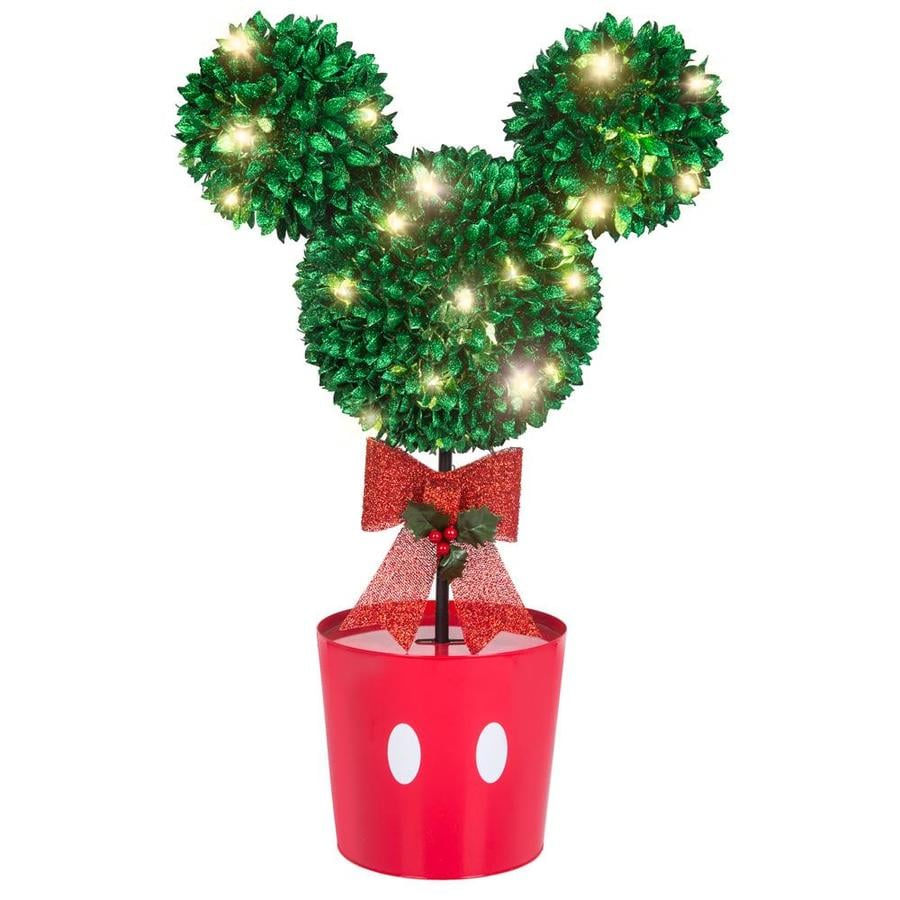 gemmy disneypixar 37 in tree with white led lights - Lowes Christmas Decorations 2017
