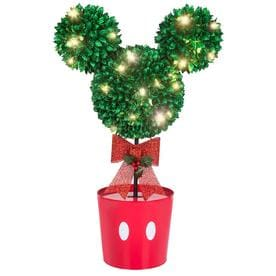 gemmy disneypixar 37 in tree with white led lights - Lowes Christmas Decorations For The Yard