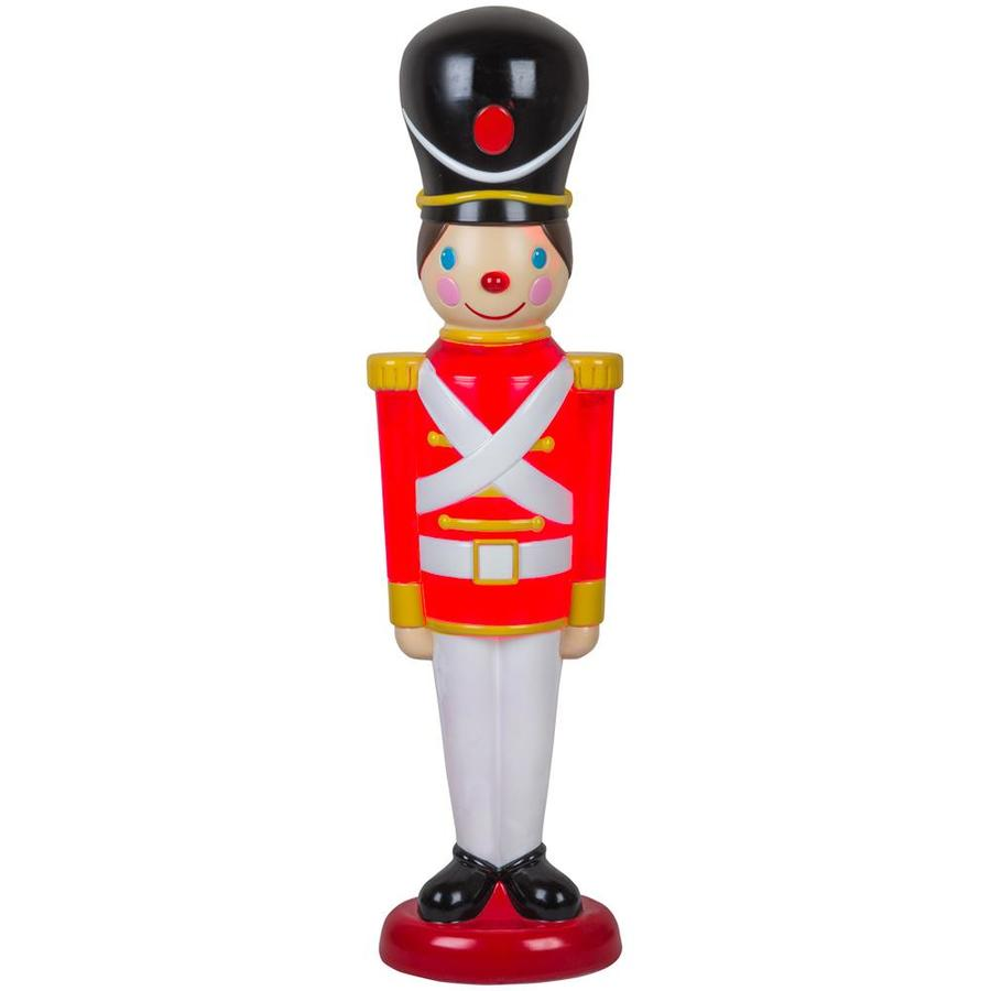 Holiday Living HL Blow Mold Toy Soldier