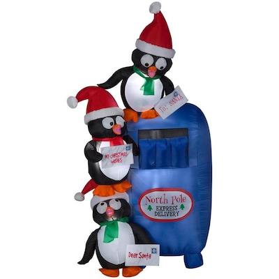Lowes Christmas Inflatables.6 Ft Lighted Penguin Christmas Inflatable