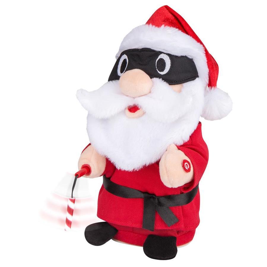 Holiday Living Animatronic Pre-Lit Musical Christmas Characters Christmas Gift with Twinkling White LED Lights