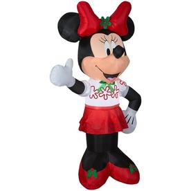 Disney 6-ft Lighted Minnie Mouse Christmas Inflatable