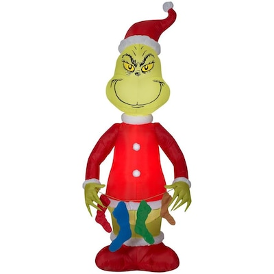 Christmas Grinch.6 5 Ft Lighted Christmas Inflatable
