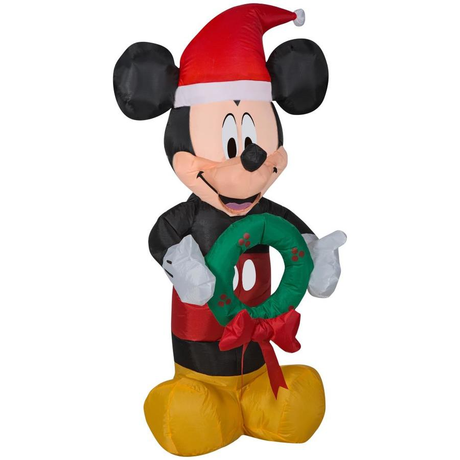 disney 351 ft lighted mickey mouse christmas inflatable - Christmas Mickey Mouse