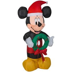 disney 351 ft lighted mickey mouse christmas inflatable - Disney Christmas Inflatables