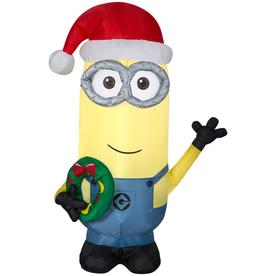 universal 351 ft lighted minion christmas inflatable - Blow Up Christmas Decorations Grinch