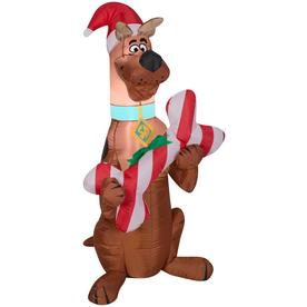 Gemmy Airblown Scooby with Bone 3-1/2 foot Christmas Inflatable