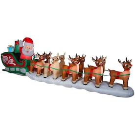 Lowes Christmas Inflatables.Christmas Inflatables At Lowes Com