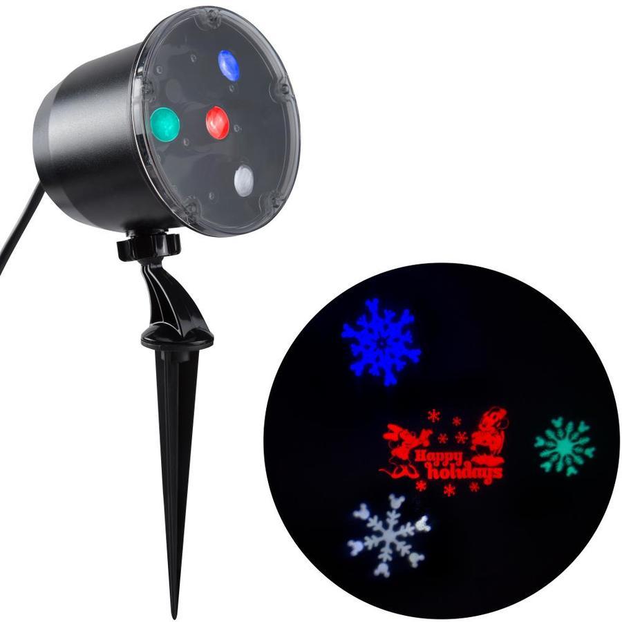 Shop Gemmy Lightshow Projection Multi-function Multicolor Led Multi ...