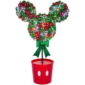 gemmy disneypixar 38583 in mickey mouse tree with multicolor led lights