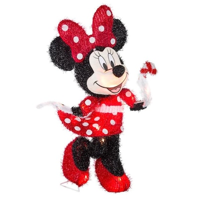 Disney Disney Pixar 23 622 In Minnie Mouse Sculpture With White