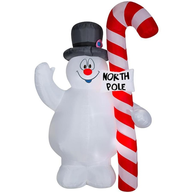 CHRISTMAS FROSTY THE SNOWMAN WITH WREATH  3.5 FT Airblown Inflatable
