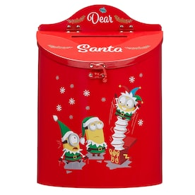Gerson International 13 75 In Long Wooden Holiday Mailbox For Santa In The Novelty Christmas Decorations Department At Lowes Com