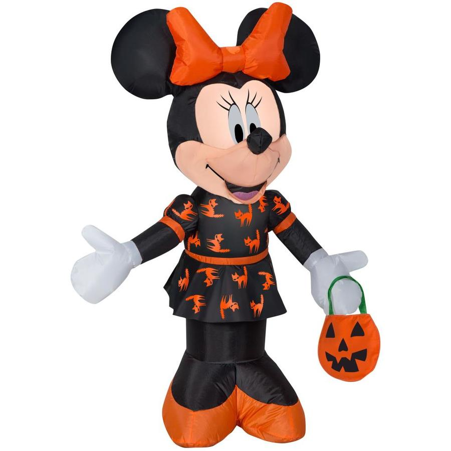 disney mickey friends 351 ft x 262 ft lighted minnie mouse halloween inflatable