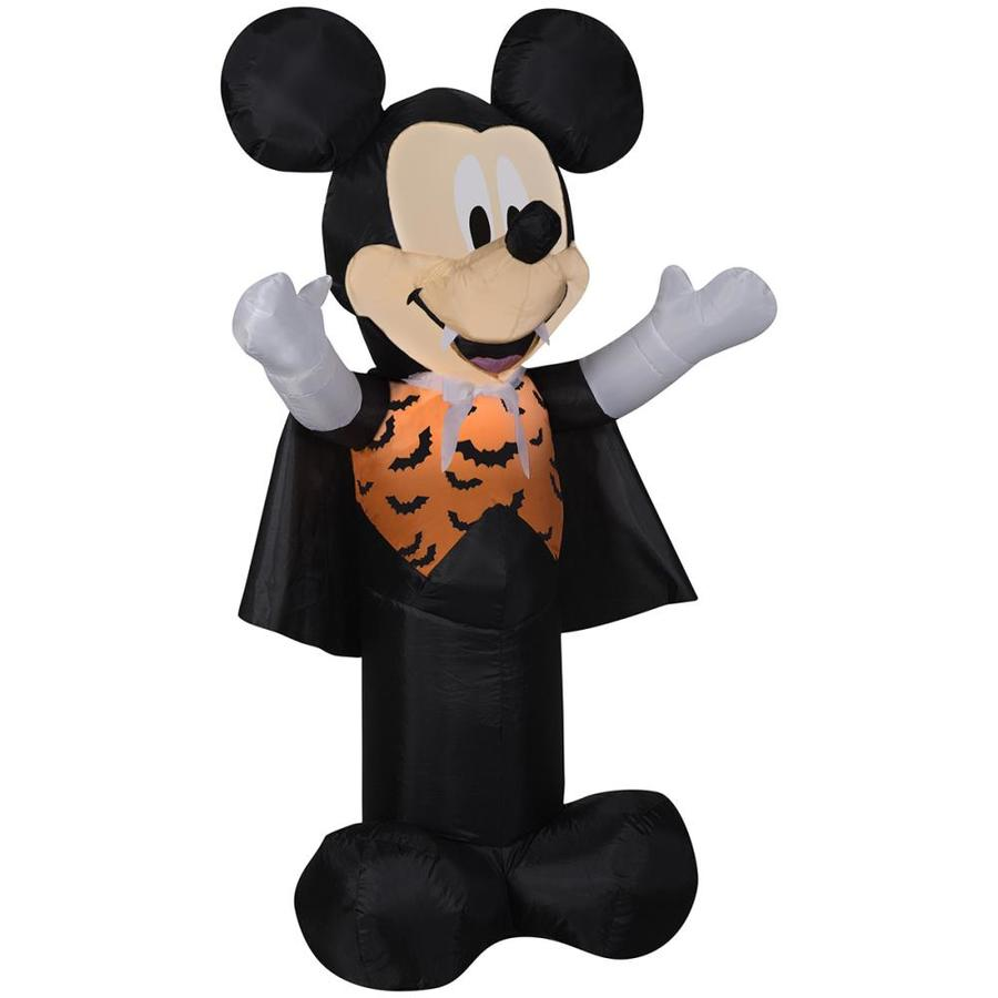 disney mickey friends 351 ft x 197 ft lighted mickey mouse halloween inflatable