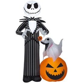 Gemmy The Nightmare Before Christmas 5-ft x Lighted Jack Skellington Halloween Inflatable