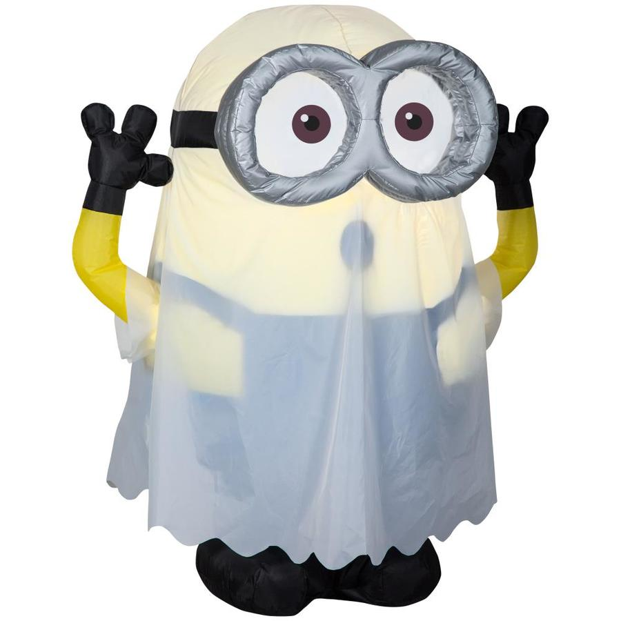 universal despicable me 3 51 ft x 2 99 ft lighted minion halloween