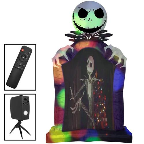 Gemmy The Nightmare Before Christmas 9.5-ft X Jack