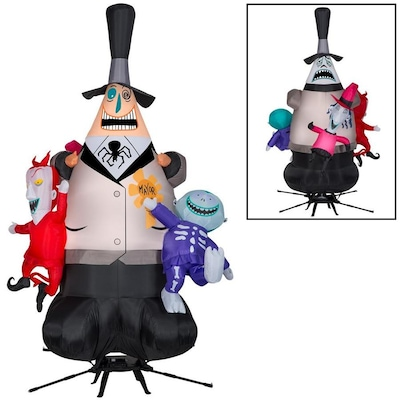 Gemmy The Nightmare Before Christmas 7-ft x Lighted Mayor Of