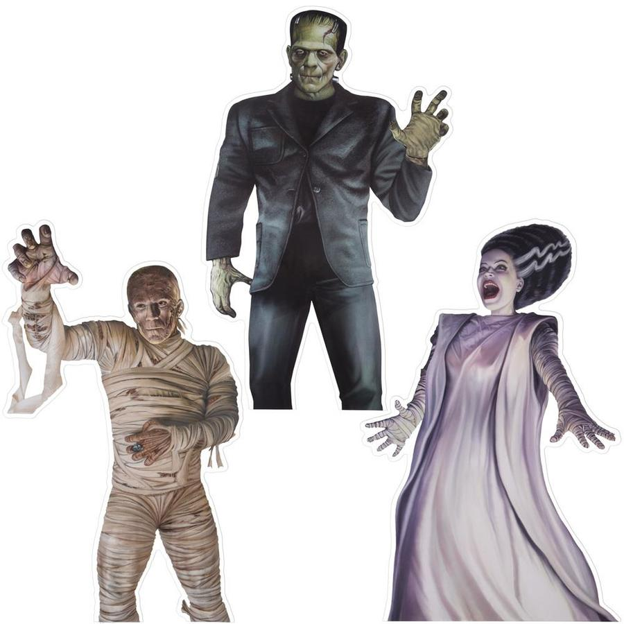 Universal Vinyl Window Clings S 3 Universal Monsters Universal In The Standing Halloween Decorations Department At Lowes Com