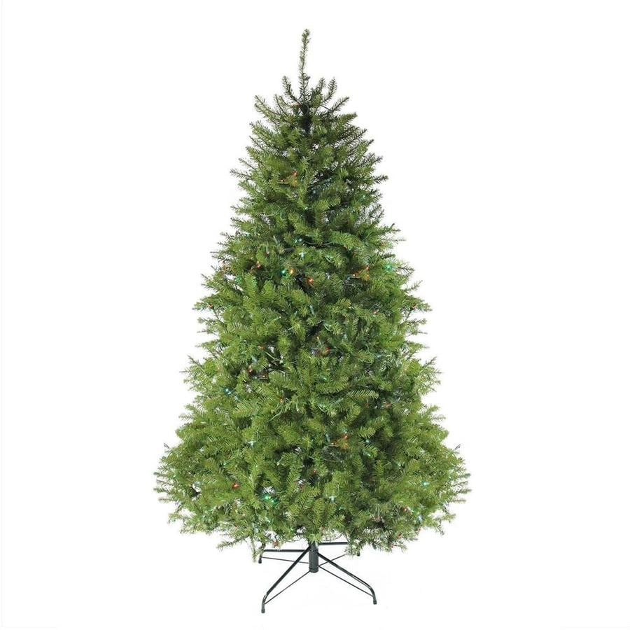 Artificial Christmas Tree 10 Ft: Northlight 10-ft Pre-lit Northern Pine Full Artificial