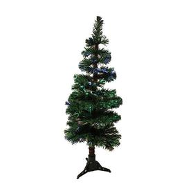Northlight 5-ft Pre-lit Spiral Topiary Slim Artificial Christmas Tree with Color Changing