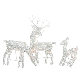 Reindeer Outdoor Christmas Decorations At Lowes