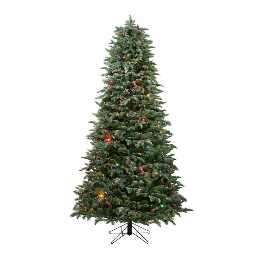 Northlight Pre Lit Spruce Slim Christmas Tree At Lowes Com