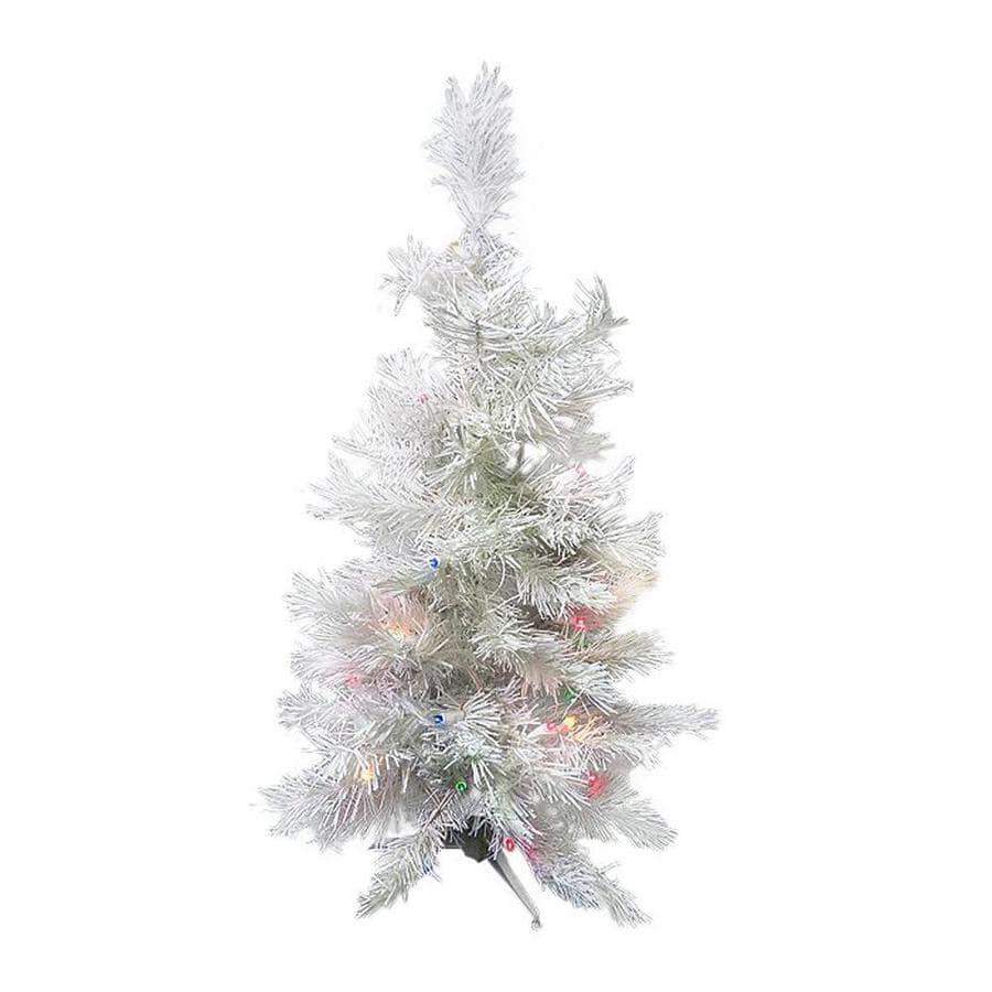 Pre Lit Led Lights Christmas Tree: Northlight 3-ft Pre-lit Slim Artificial Christmas Tree