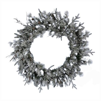 Silver Christmas Wreath.Northlight 36 In Frosted Silver Whistler Fir Artificial