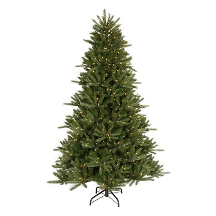 8ft Christmas Tree Pre Lit: Northlight 8-ft 6-in Pre-lit Artificial Christmas Tree