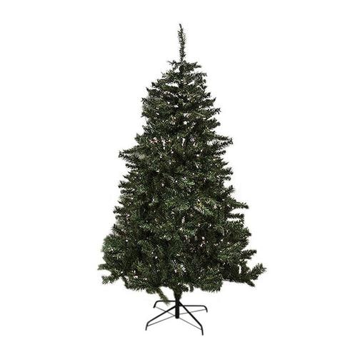 6 Pre Lit Slim Christmas Tree: Northlight 6-ft 6-in Pre-lit Mixed Needle Slim Artificial