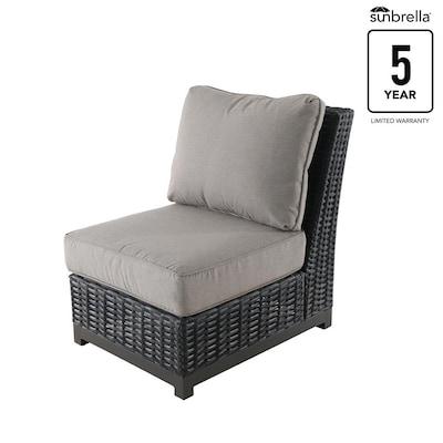 Admirable Altadena Set Of 2 Wicker Metal Stationary Conversation Chair S With Tan Sunbrella Cushioned Seat Creativecarmelina Interior Chair Design Creativecarmelinacom