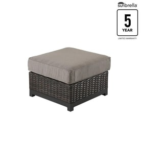 Outdoor Ottomans Amp Foot Stools At Lowes Com
