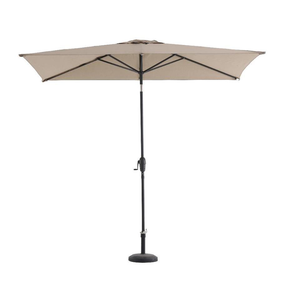 Charmant Garden Treasures Vinehaven Tan Market 7 Ft Patio Umbrella