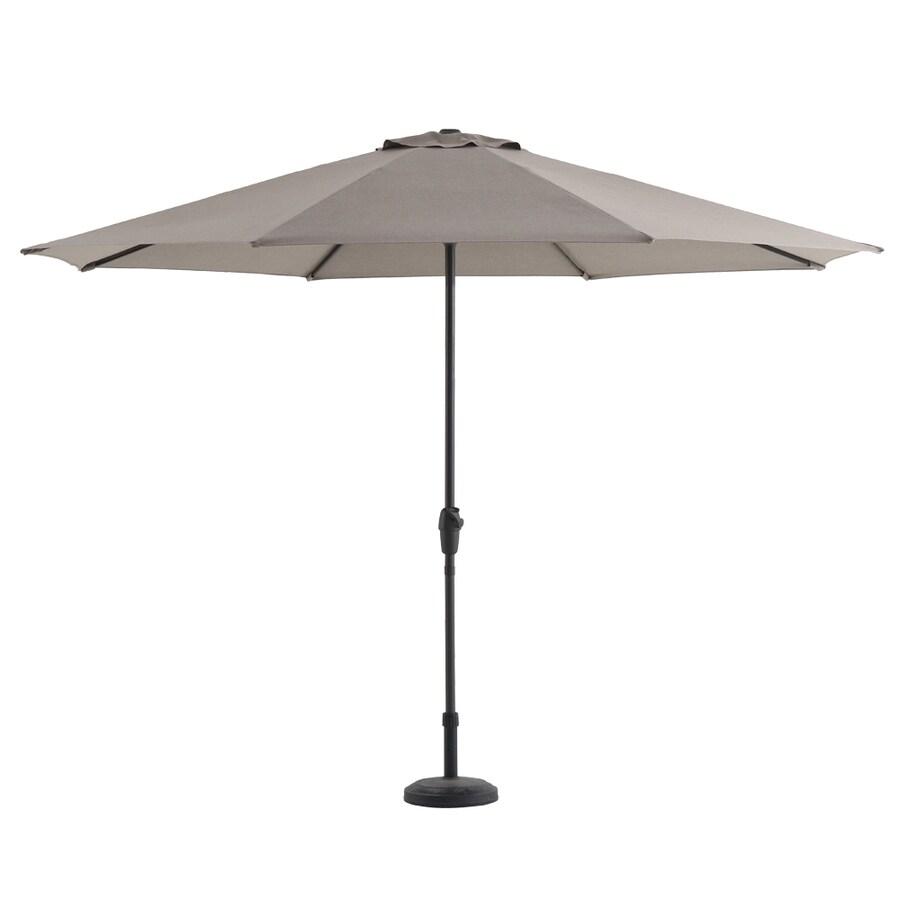 Attirant Royal Garden Tan Market 11 Ft Patio Umbrella