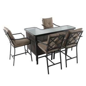 Terrific Steel Patio Dining Sets At Lowes Com Download Free Architecture Designs Scobabritishbridgeorg
