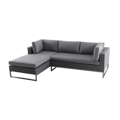 Stupendous Allen Roth Sinclair 2 Piece Aluminum Frame Patio Andrewgaddart Wooden Chair Designs For Living Room Andrewgaddartcom