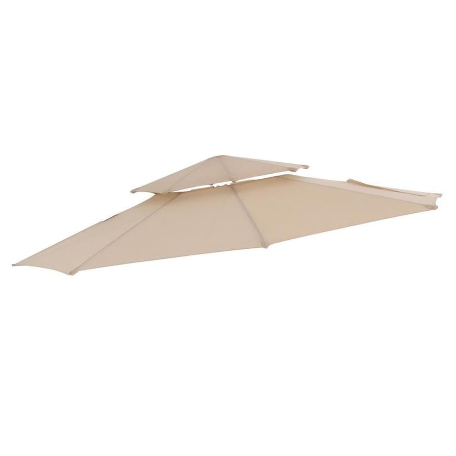 Exceptionnel Garden Treasures 11 Ft Offset Umb. Replacement Canopy Tan