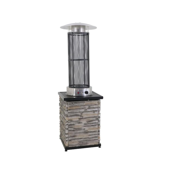Allen Roth 34000 Btu Brown Steel Tabletop Liquid Propane Patio Heater In The Gas Patio Heaters Department At Lowes Com