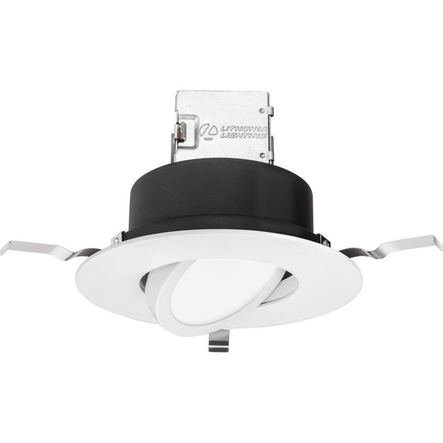 Lithonia Recessed Lighting Spacing: Lithonia Lighting 1-Pack OneUp 65-Watt Equivalent White