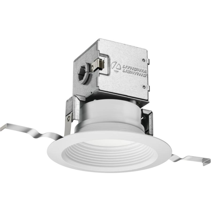Lithonia Lighting Recessed Cans: Lithonia Lighting 1-Pack OneUp 65-Watt Equivalent White