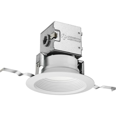 Oneup 65 Watt Equivalent White Dimmable Canless Recessed Downlight