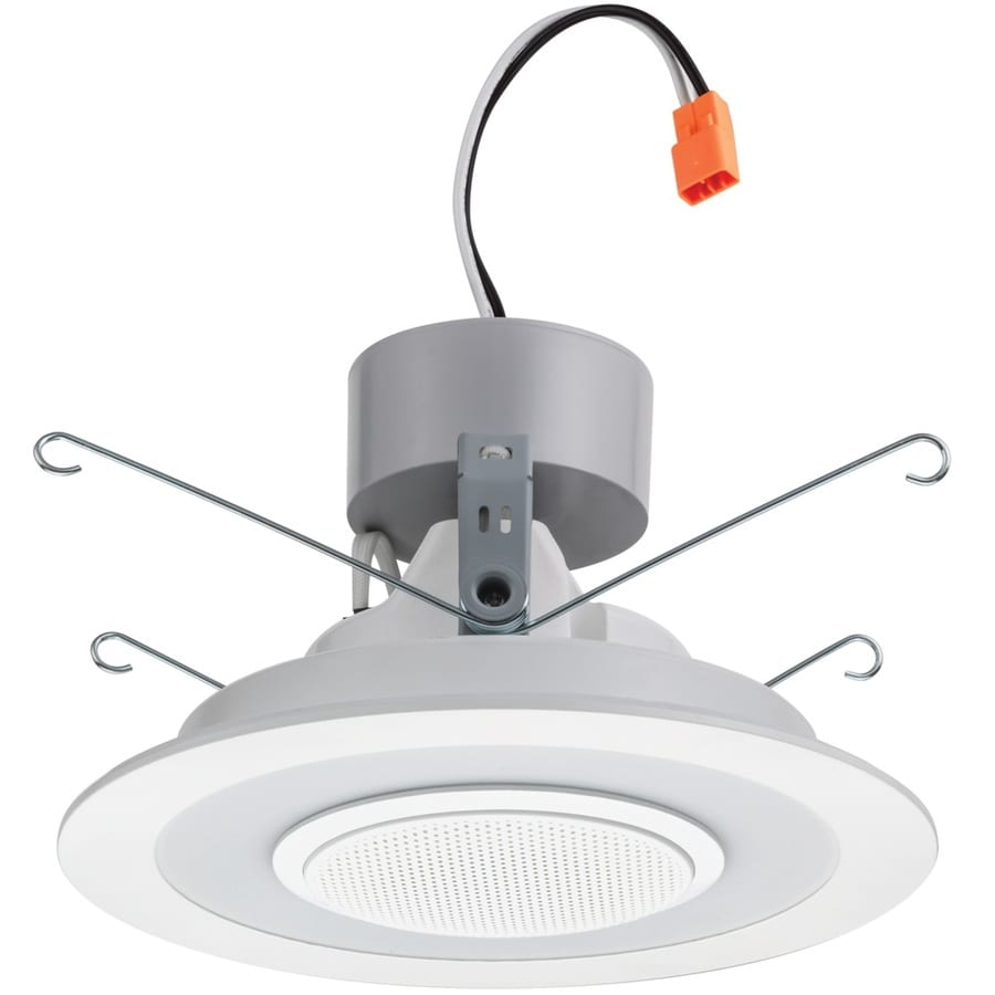 Lithonia Lighting Recessed Cans: Lithonia Lighting 6SL 60-Watt Equivalent Matte White