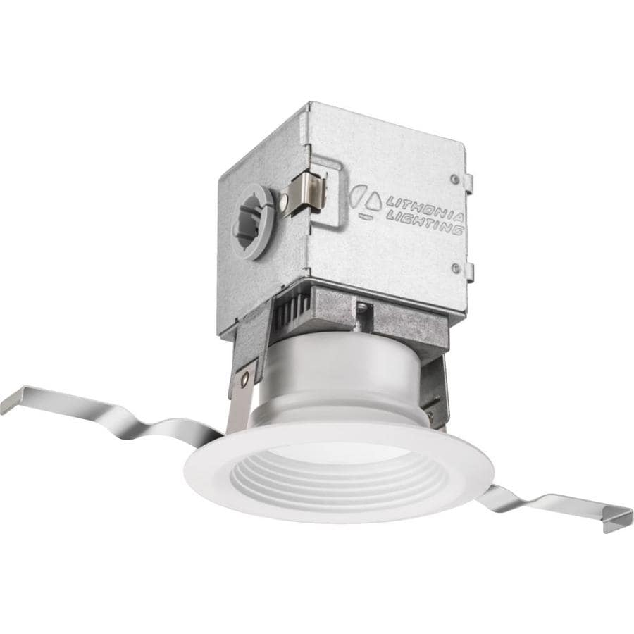 Lithonia Recessed Lighting Spacing: Lithonia Lighting OneUp 50-Watt Equivalent White Dimmable