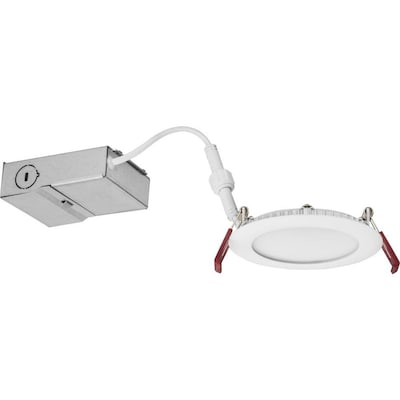 Lithonia Lighting Wafer 65 Watt Equivalent Matte White