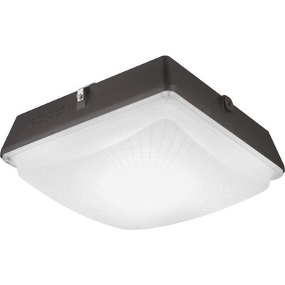 Lithonia Lighting Outdoor Bronze Led 13900lm 5000k Canopy