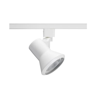 Trac Lites 1 Light White Step Linear Track Lighting Head