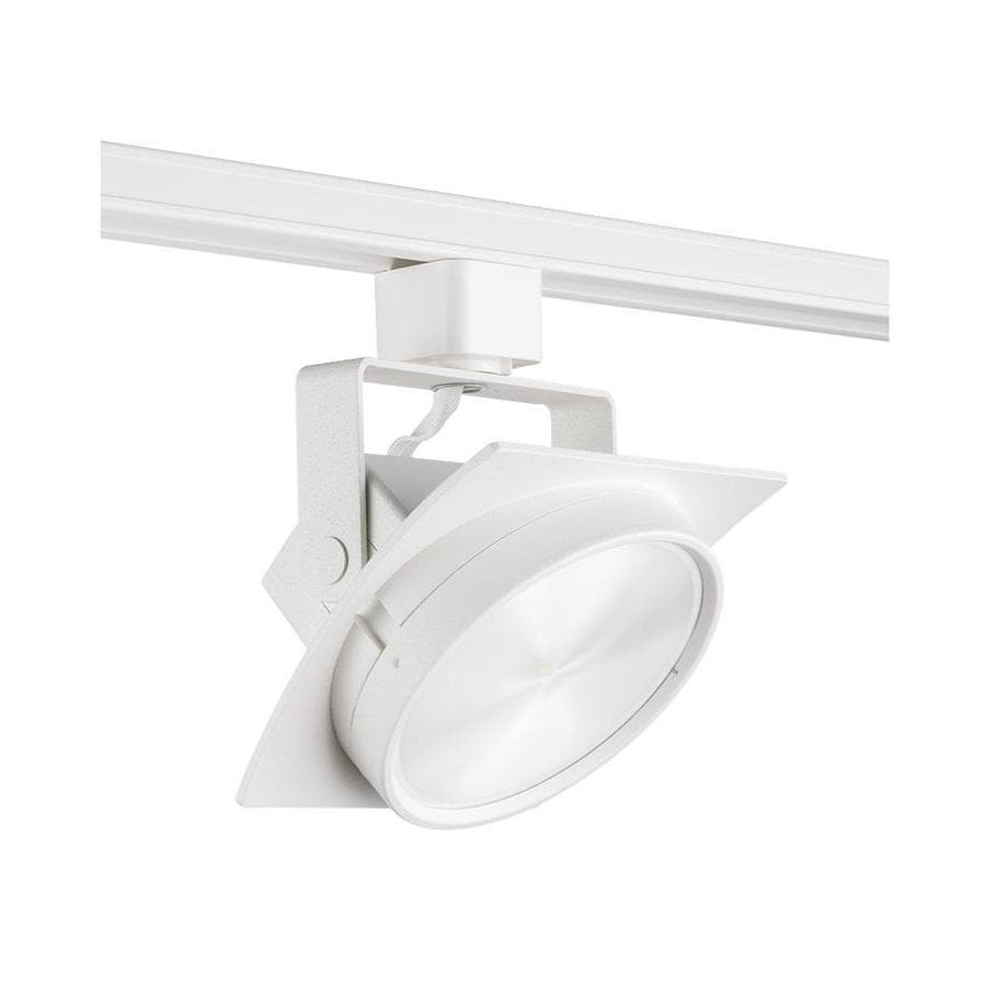 Shop juno trac master 1 light dimmable white gimbal linear led track juno trac master 1 light dimmable white gimbal linear led track lighting head aloadofball Gallery