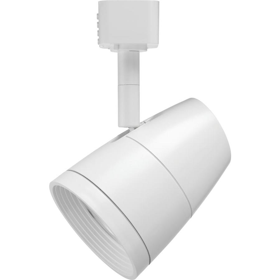 juno trac lites 1 light dimmable white flat back linear led track lighting head at. Black Bedroom Furniture Sets. Home Design Ideas